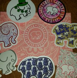 d7a9444c8 ivory ella Other - Ivory Ella Stickers and Authenticity Tags